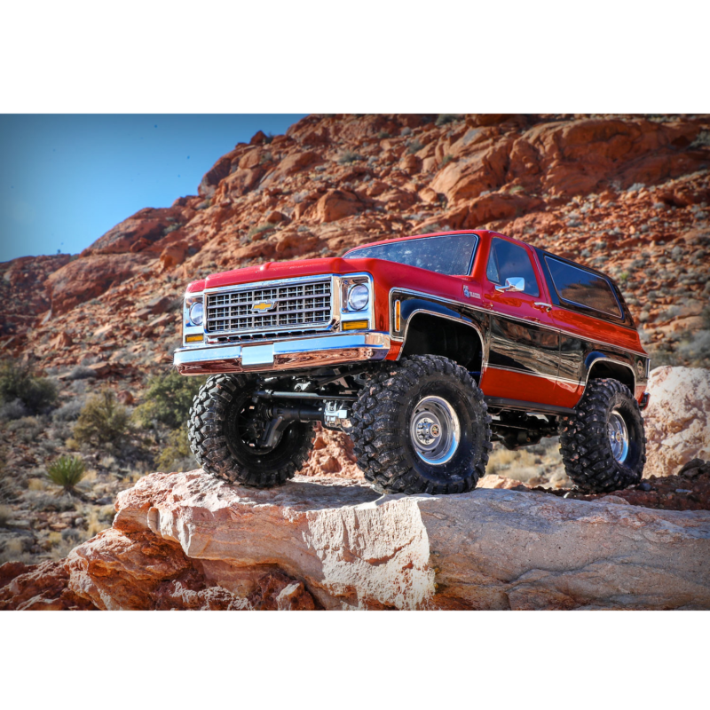 Traxxas - 1/10 Scale - TRX4 Scale & Trail Crawler Chevrolet K5 Blazer  Brushed Electric Remote Control Truck