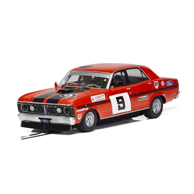 Scalextric - 1/32 Scale - Ford XY Falcon, ATCC 1973 Winner, #9 Alan Moffat  Slot Car
