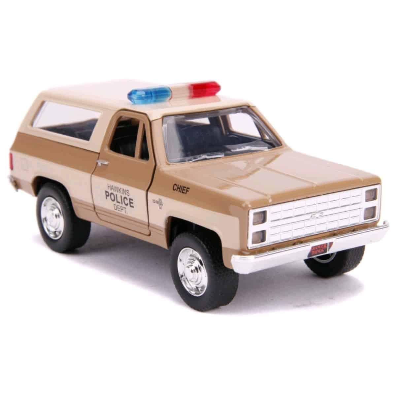 1:32 Hopper/'s 1980 Chevrolet K5 Blazer JADA Chevy Stranger Things