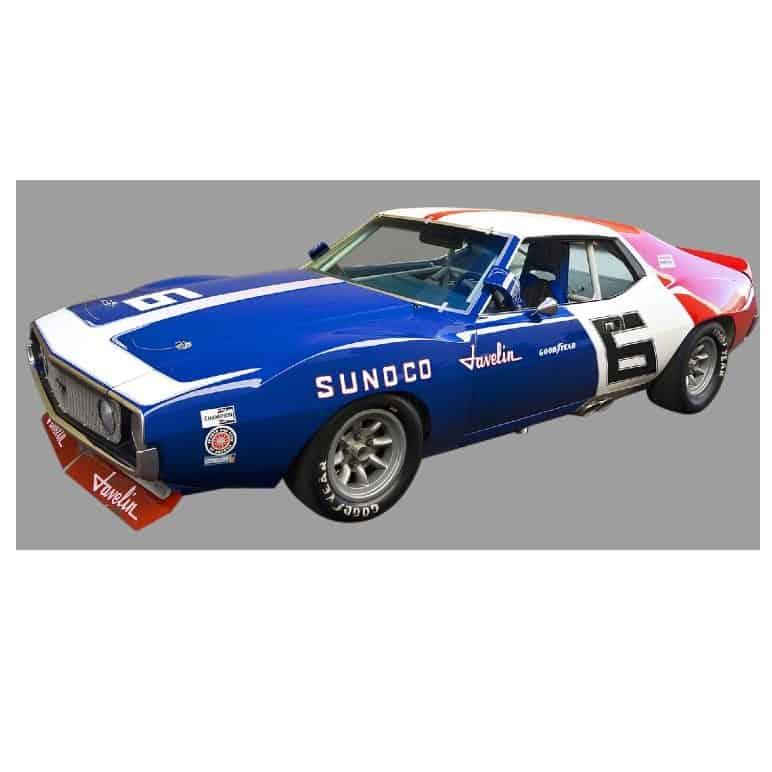 AMC Javelin Trans Am Champion 1971 Mark Donohue Real Art Replicas 1:18 RAR18005